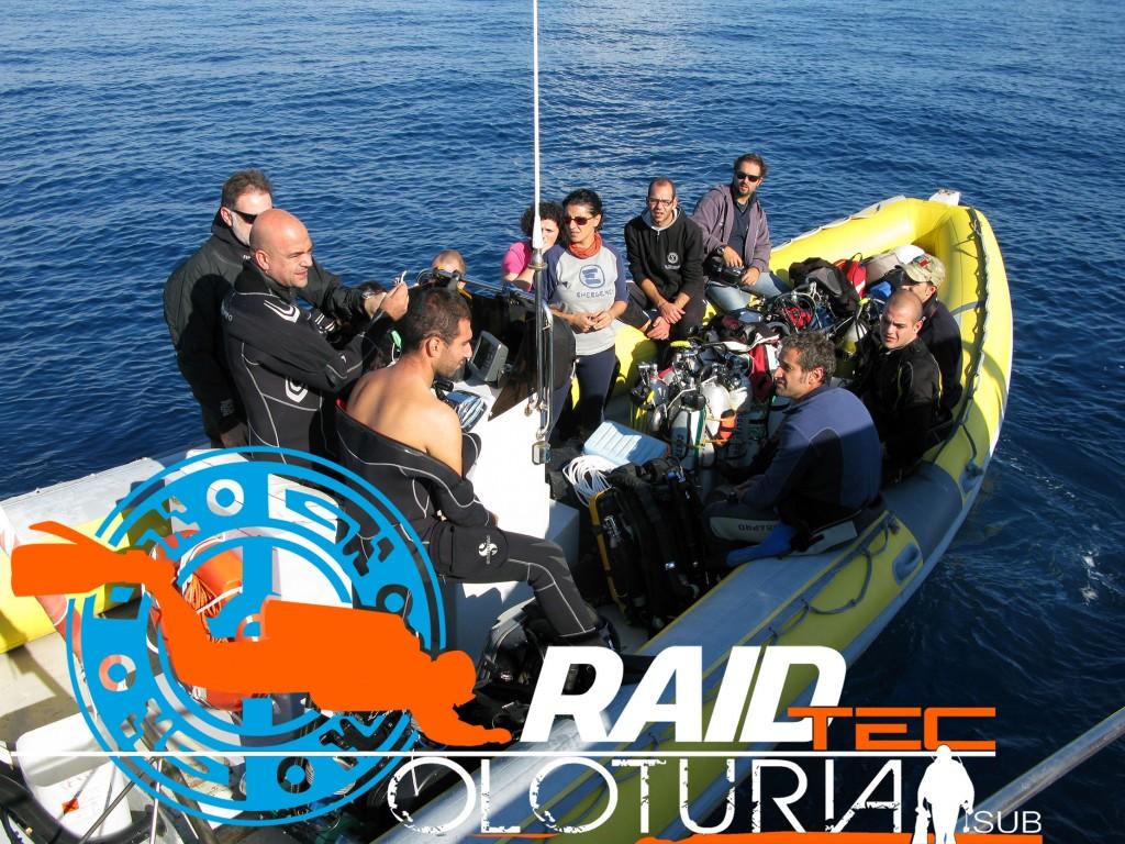 RAID wreck boat dive
